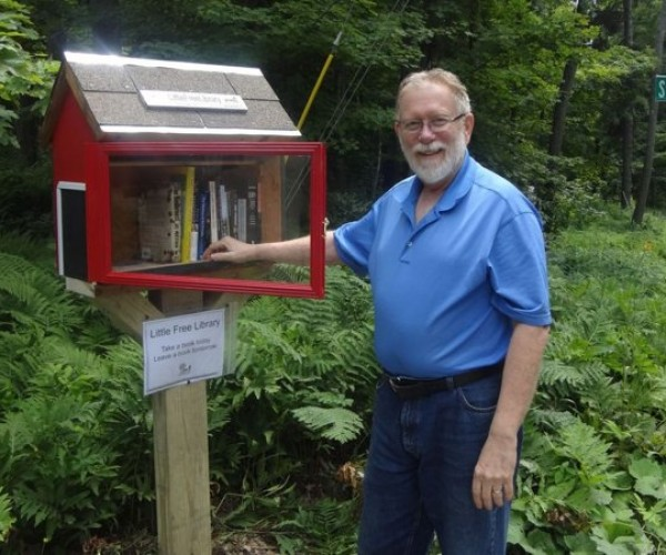 Little Free Library is the Book Drive that Everyone Can Join
