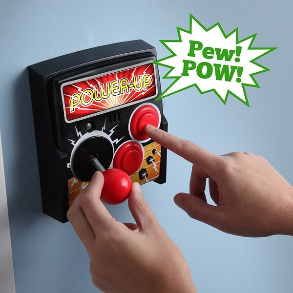 Power-Up Arcade Light Switch Plate