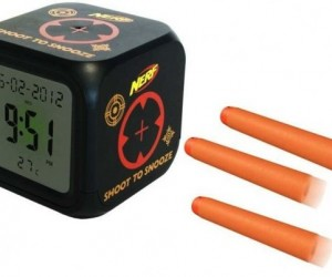 Nerf Shoot to Snooze Lets You Get Some Target Practice Before Breakfast