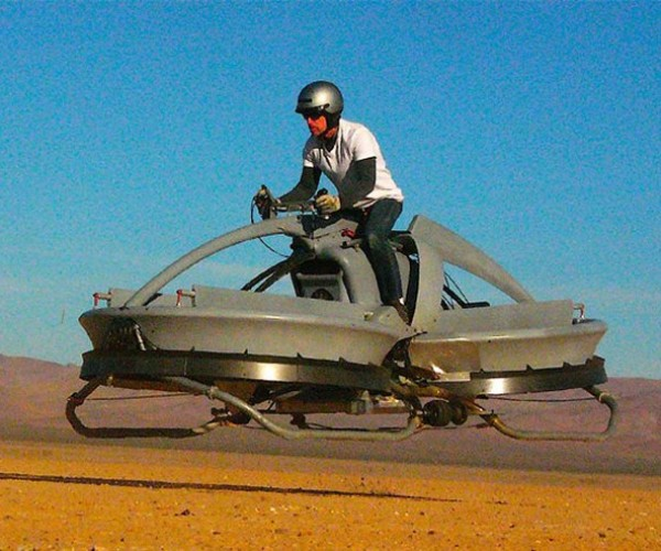 Aerofex Hover Bike Brings Return of the Jedi's Speeder Bikes to Life