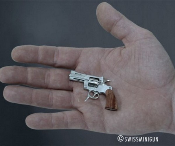 This Revolver is the World's Smallest Fully-Functioning Firearm