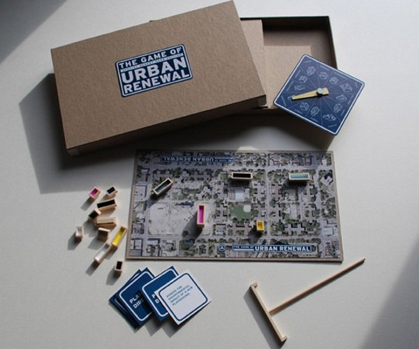Build Your Ideal City in the Game of Urban Renewal