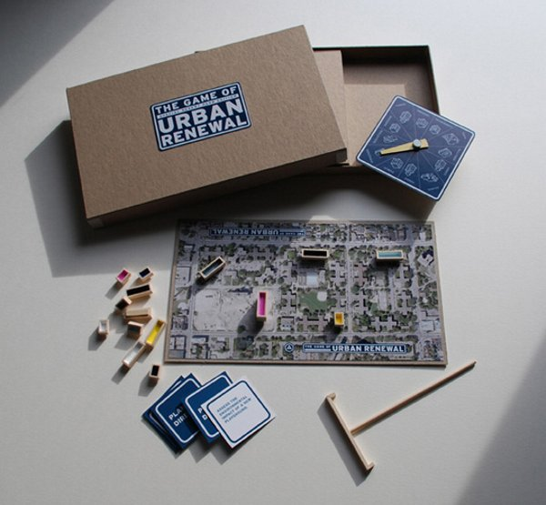 Urban Renewal Board Game