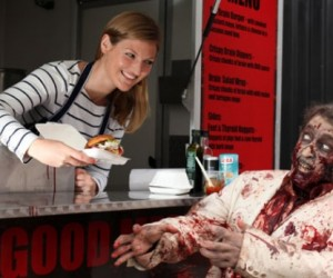 Walking Dead Food Truck Offers Brain Burgers to Go