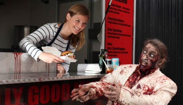 Walking Dead Food Truck