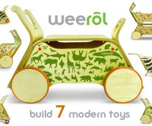 Weerol is the Toy that Grows with Your Child