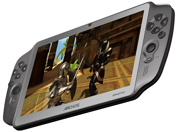archos gamepad gaming tablet
