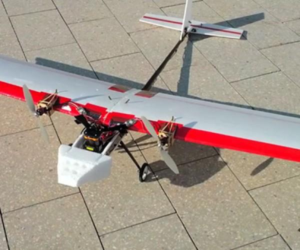Autonomous Robot Plane is the R/C Toy You've Dreamed of