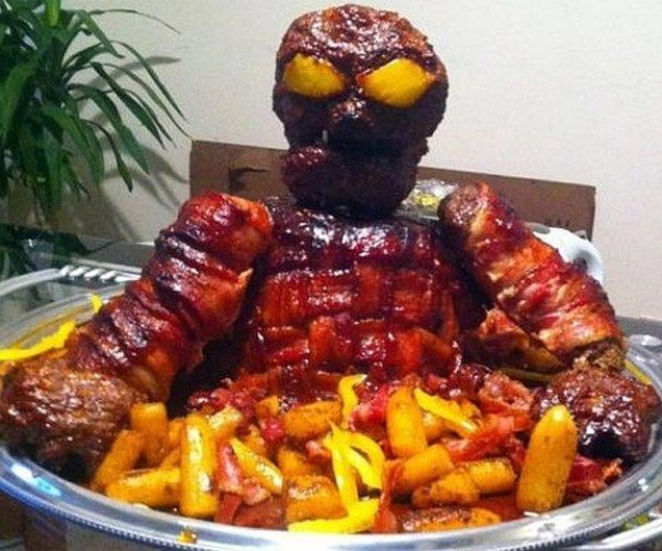 Bacon Demon from Hell Wants to Kill You by Clogging Your Arteries