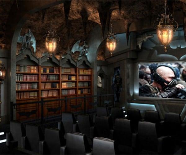 Ultimate Bat Cave: Dark Knight Rises Movie Theater