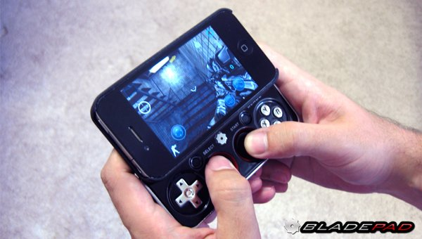 bladepad iphone 4s gamepad