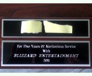 blizzard entertainment 5 year sword 2