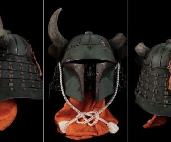 Star Wars Helmets Get Horny for a Good Cause