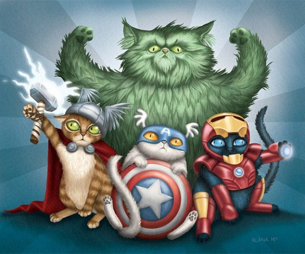 CatVengers: A Movie I'd Pay $15 to See