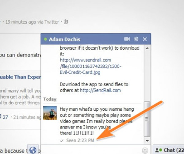 Chat Undetected Cloaks Your Status in Facebook Chat