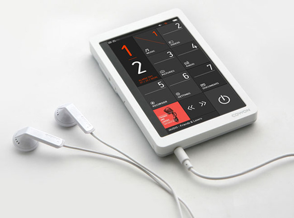 cown pmp x9 portable music player