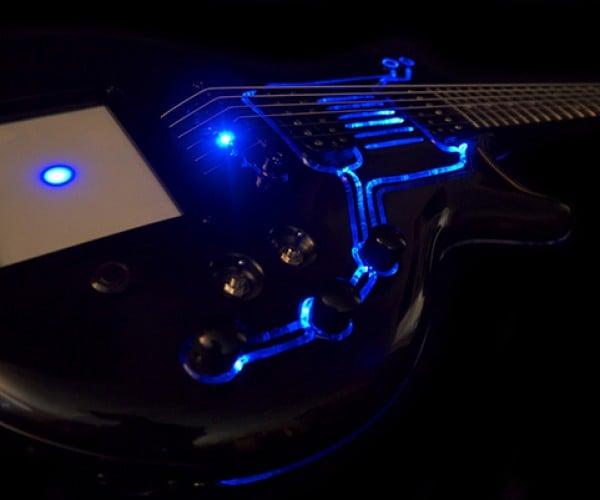 cybertech t ron guitar hutchinson 5