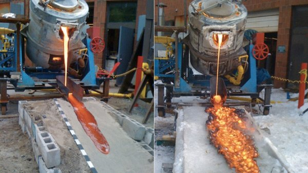 diy lava flow hack university syracuse molten magma