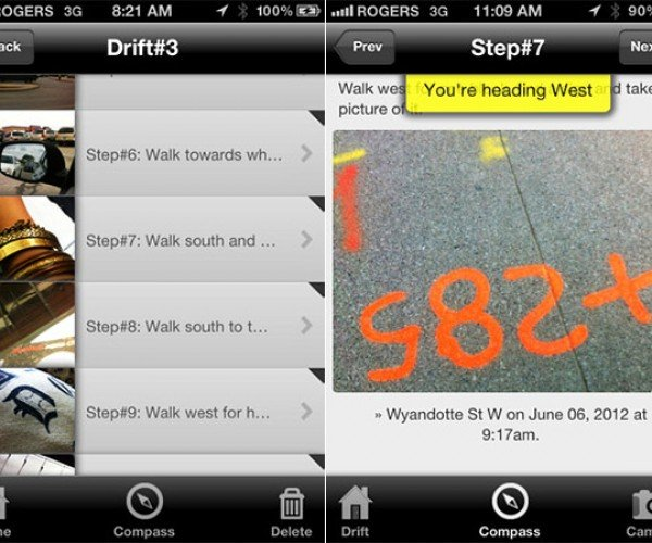 Drift App for iOS Lets You Get Lost in All Your Favorite Places
