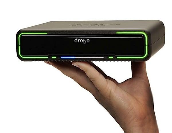 drobo mini portable raid storage laptop