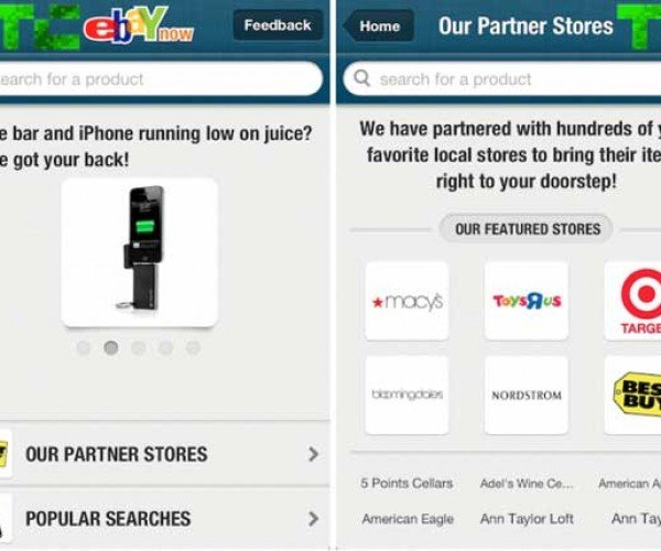 EBay Now Gets Your Products to You the Same Day