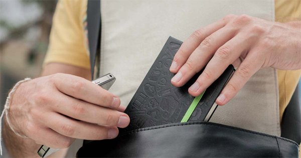 evernote moleskine smart notebook bag