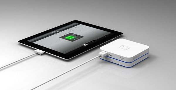 exogear stackable battery power external ipad