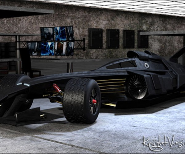 F1 Batmobile Tumbler Concept: The Joker Won't Get Away