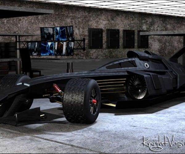 F1 Batmobile Tumbler Concept: The Joker Won't Get Away