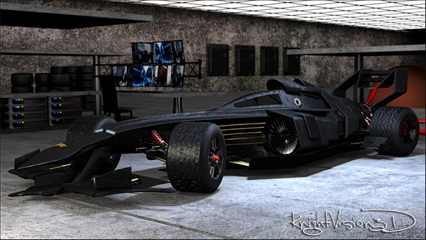 f1 batmobile front