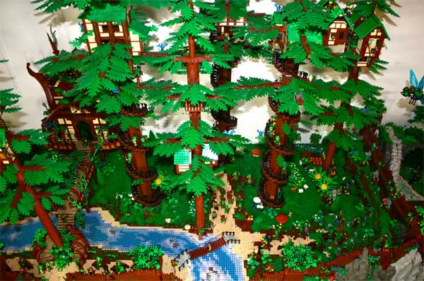 Lego Faerie Forest Reminds Us Of Endor Technabob