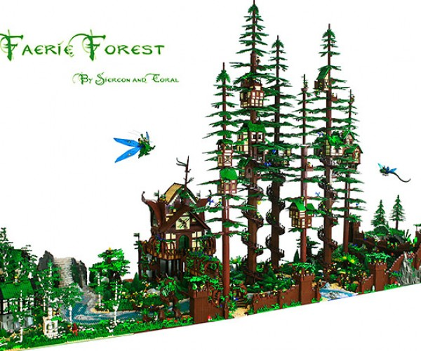 LEGO Faerie Forest Reminds Us of Endor