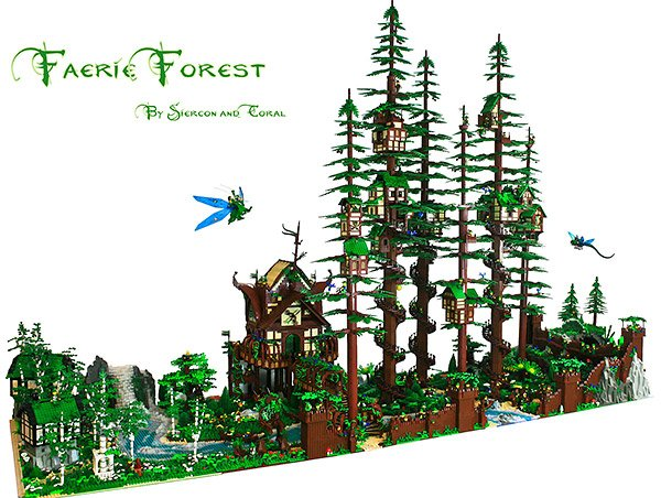 faerie forest lego