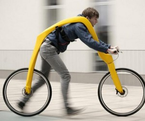 Fliz Pedal-less Bicycle is Powered by Running, Makes Me Tired Just Looking at It