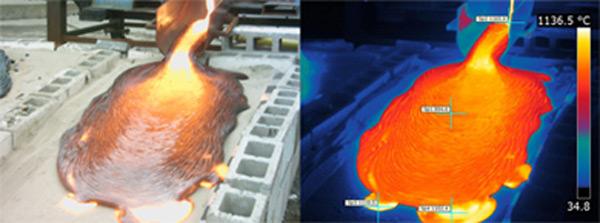 diy lava flow hack university syracuse molten magma