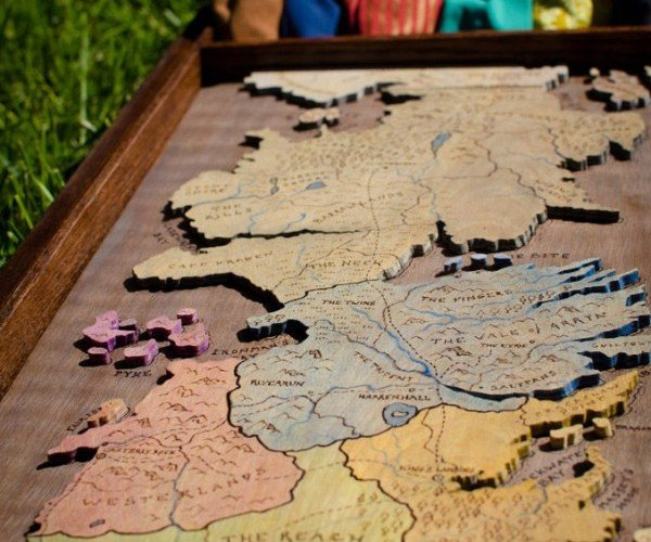 Game of Thrones Risk Board Game: World Domination is Coming
