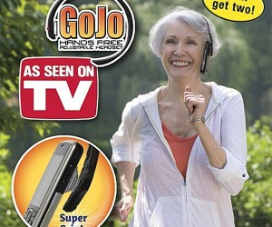 "GoJo is ""the Only, Truly Hands-Free Headset"" in Existence"