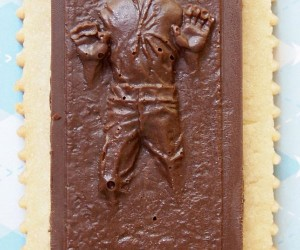 Chocolate Han Solo in Carbonite Sugar Cookies Will Turn You into Jabba