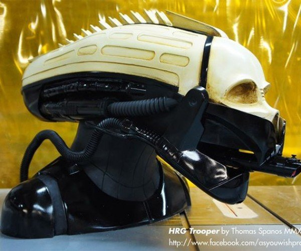 Alien Darth Vader Helmet: Ripley, Believe it or Not!