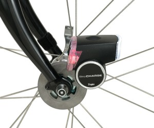 iBikeConsole BikeCharge Dynamo Charges Your Gear While Your Ride Your Bike