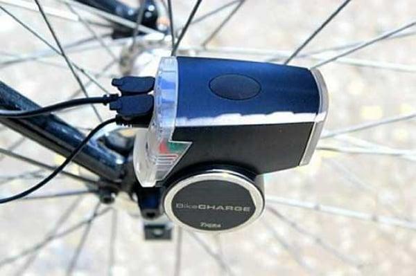ibikeconsole bikecharge dynamo usb charger bicycle