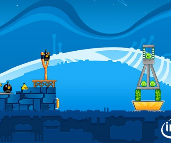 Angry Birds Gets an Intel Theme on Facebook