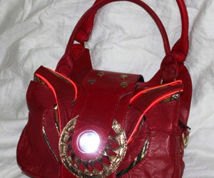 Custom Arc Reactor Purse for Real Iron Women