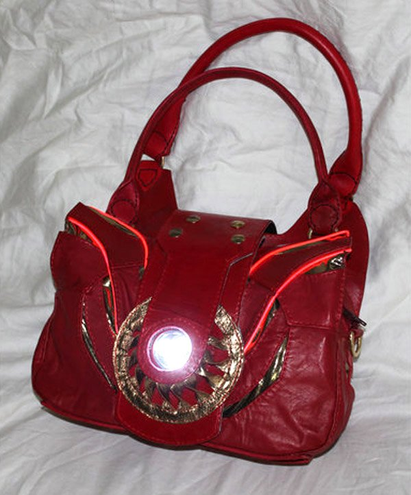 iron man arc reactor purse