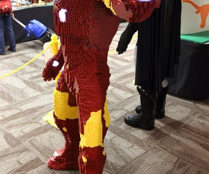 Kid Builds Life-Size LEGO Iron Man