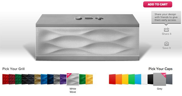 jawbone jambox remix bluetooth speaker portable colors