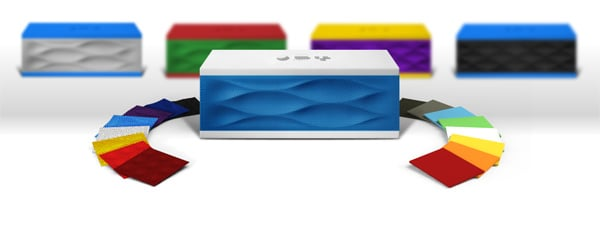 jambox jawbone the remix bluetooth speaker palette
