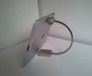 IKEA Kitchen Handle Hacked Into iPad Stand