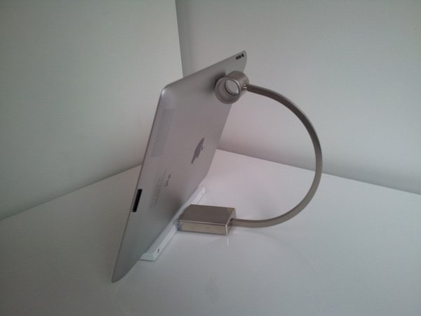 kitchen handle ipad stand