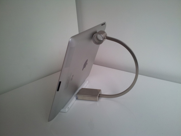 kitchen handle ipad stand hack ikea